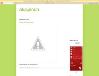 akaijenuh.blogspot.com screenshot