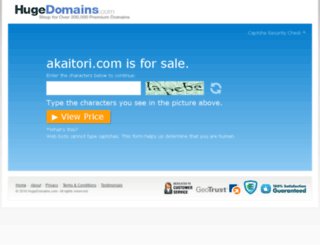 akaitori.com screenshot