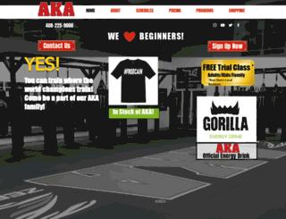 akakickbox.com screenshot