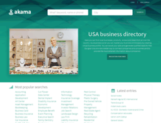 akama.com screenshot