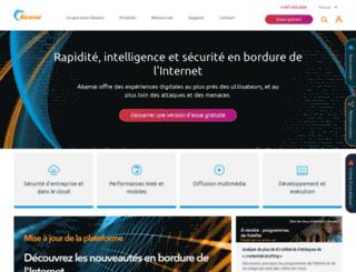 akamai.fr screenshot
