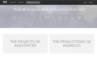 akamusic.com screenshot