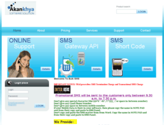 akankhyasoft.com screenshot