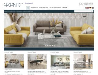 akante.com screenshot