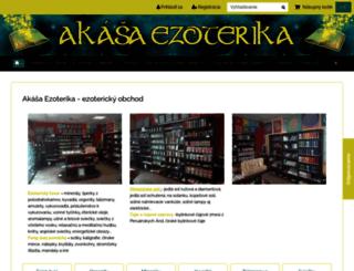 akasaezoterika.sk screenshot