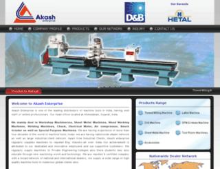 akashenterprise.com screenshot