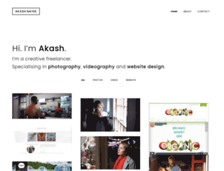 akashnayee.com screenshot