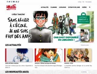 akata.fr screenshot
