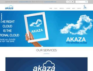 akaza.com screenshot