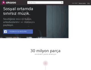 akazoo.com.tr screenshot