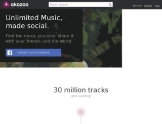 akazoo.net screenshot