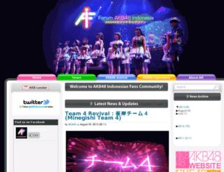 akb48.org screenshot