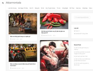 akbarmontada.com screenshot