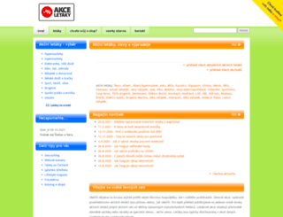 akce-letaky.cz screenshot