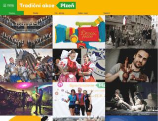 akce.plzen.eu screenshot