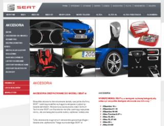 akcesoria.seat.pl screenshot
