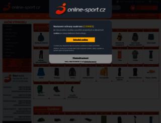 akcni-vyprodej.online-sport.cz screenshot