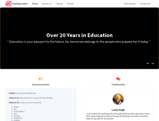 akcoachingcentre.com screenshot