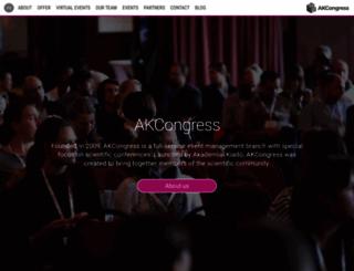 akcongress.com screenshot