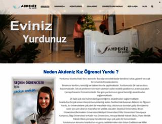 akdenizkizyurdu.com screenshot