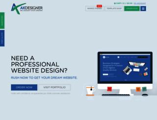 akdesigner.com screenshot