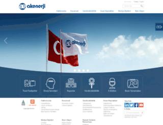 akenerji.com.tr screenshot