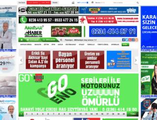akhisarhaber.com screenshot