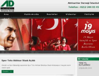 akhisarlilardernegi.com screenshot