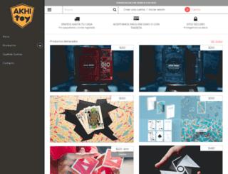 akhitoy.com screenshot