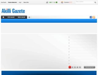 akilligazete.com screenshot