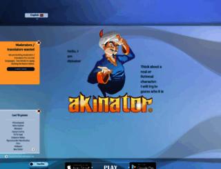 akinator.com screenshot