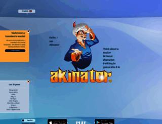 akinator.mobi screenshot