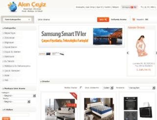 akinceyizmobilya.com screenshot