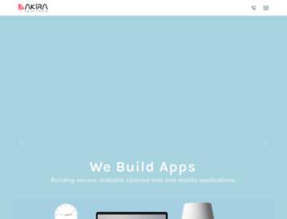 akiraplc.com screenshot