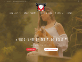 akitainubrasil.com.br screenshot