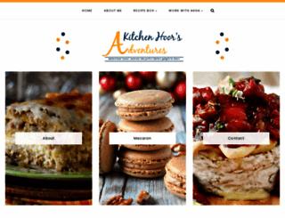 akitchenhoorsadventures.com screenshot