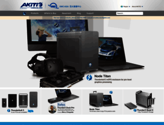 akitio.com screenshot