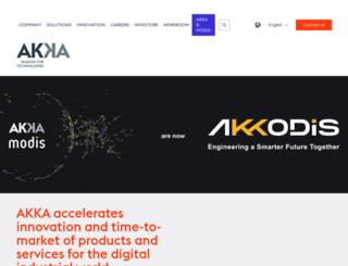 akka.eu screenshot