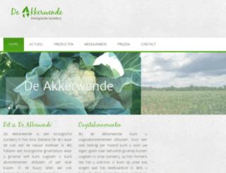 akkerwendebiologisch.nl screenshot