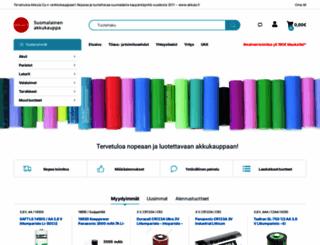 akkula.fi screenshot
