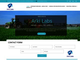 aklabs.com.au screenshot