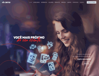 akna.com.br screenshot