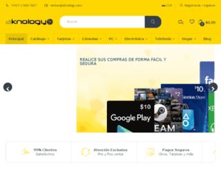 aknology.net screenshot