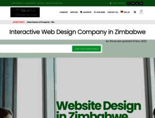 akoiweb.co.zw screenshot