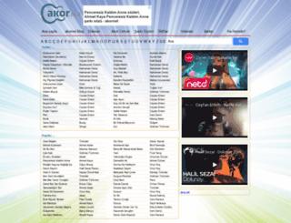 akor.net screenshot