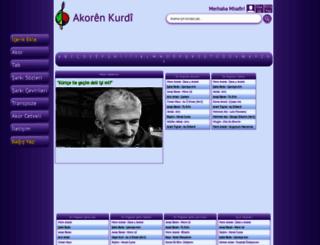 akorenkurdi.com screenshot