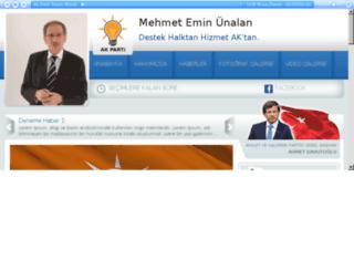 akpadayv2.tukawebtasarim.com screenshot