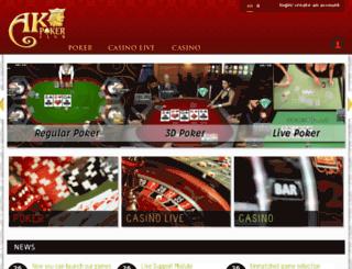 akpokerclub.com screenshot