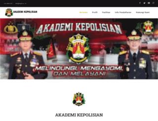 akpol.ac.id screenshot