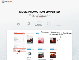 akr.haulix.com screenshot
